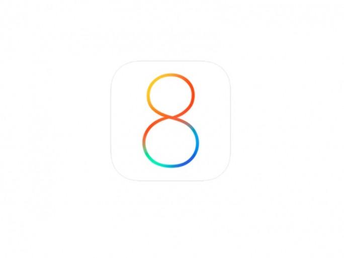 iOS 8 Logo (Bild: Apple)