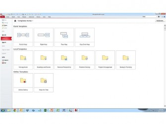 Mindmanager 15 Template-Galerie