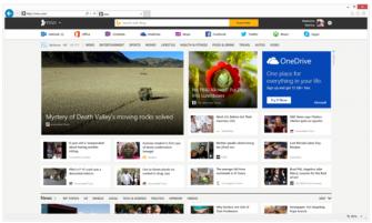 So sieht die Vorschau der kommenden MSN-Version aus (Bild: Microsoft).