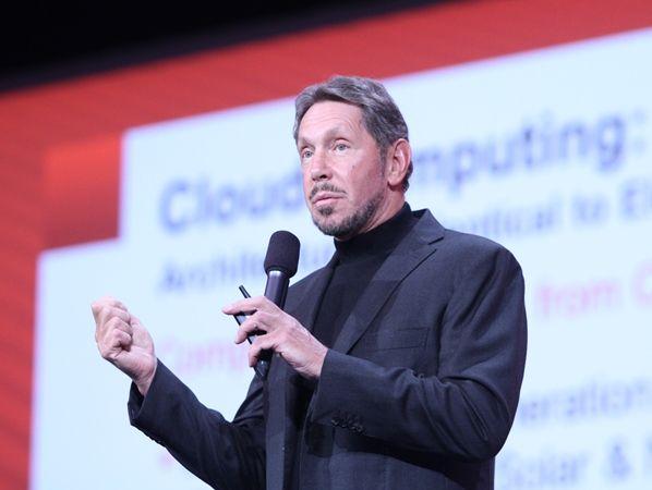 Larry Ellison (Bild: Jiangxiang Hui / ZDNet China)