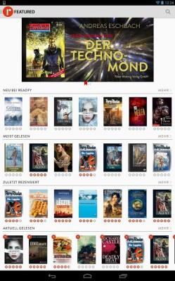 App Readfy erlaubt kostenlose Nutzung von E-Books.