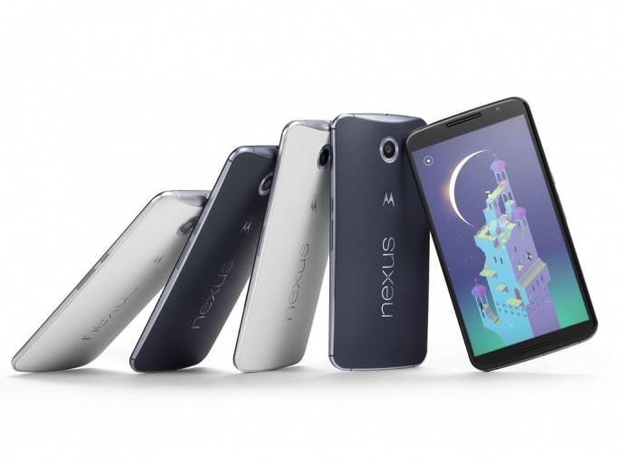 Google hat Nexus 6 offiziell vorgestellt (Bild: Google)