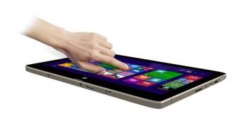 Medion Akoya S6214T im Tablet Modus (Bild: Medion)