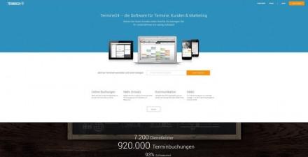 Screenshot Website Termine24 (Bild: Termine24)