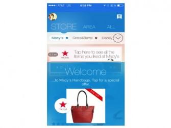 Shopkick-App bei- Macey's