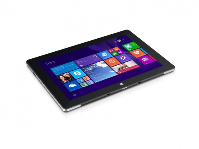 """Trekstor vermarktet sein erstes Tablet mit Windows 8.1 mit Bing, das Surftab Wintron 10.1, ab heute in einer gemeinsamen Aktion mit der Bild-Zeitung als """"Volks-Tablet"""" (Bild: Trekstor)"""