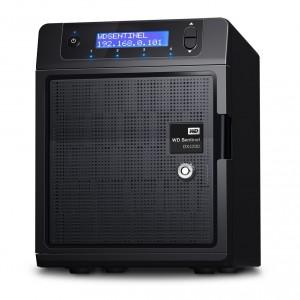 Western Digital stellt Speicherserver Sentinel DX4200 vor (Bild: Western Digital)