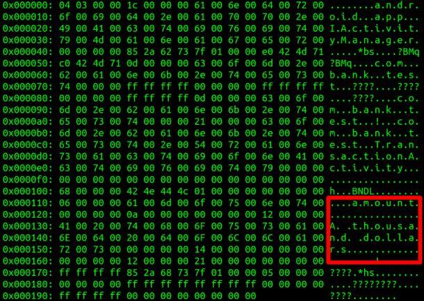 Über Angriffe auf die Betriebssystemkomponente Binder lassen sich bei Android alle Daten auslesen - auch wenn sie wie beim banking durch Zwei-Faktor-Authentifizierung oder Verschlüsselung geschützt sein sollten (Bild: Checkpoint).