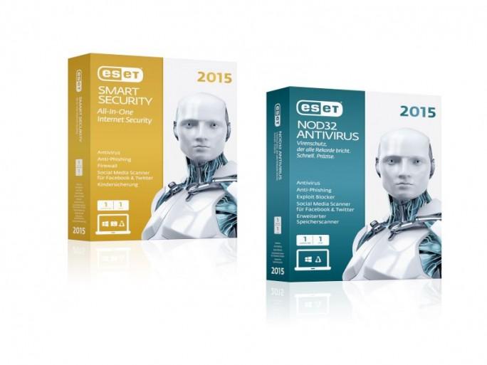 Eset Smart Security und Nod32 Antirus 2015 (Bilder: Eset)