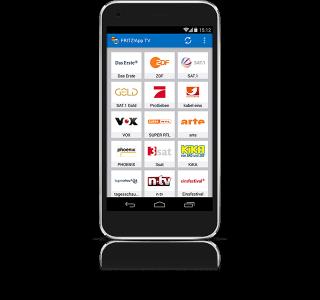 Die Fritz App TV steht für Android (ab Version 4.0) und iOS (ab Version 7) zur Verfügung Bild: AVM).