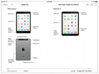 ple hat versehentlich schon vor seiner Presseveranstaltung Bilder veröffentlicht, die das iPad Mini 3 und das iPad Air 2 zeigen (Screenshot: Stephen Shankland / CNET).