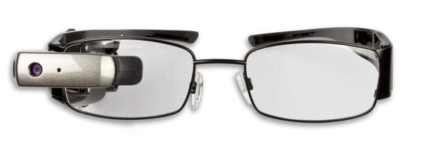 Die für Verbraucher konzipierte Version der M100 Smart Glasses von Vuzix soll demnächst erhältlich sein (Bild: Vuzix).