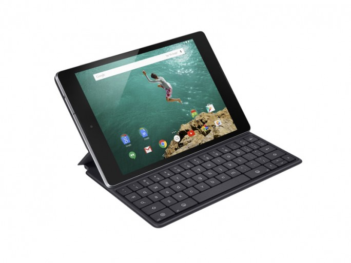 Nexus 9 mit Keyboard Folio (Bild: HTC)