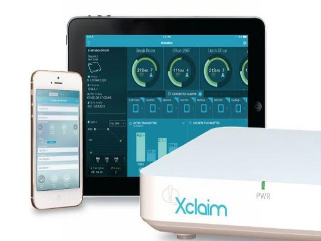 Das Xclaim-System von Ruckus Wireless umfasst neben einem 802.11n- oder ac-Access.Point auch eine App namens Harmony, die etwa auf den hier abgebildeten iPhone und iPad genutzt werden kann (Bild: Ruckus Wireless).
