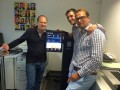 Der Bitcoin-Automat im Entrepreneurship-Bereich der LMU in der Giselastraße 10 in München (Bild: SatoshiBay).