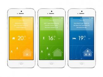 Nutzer können die Tado-Heizungssteuerung mit ihrem Smartphone überwachen. (Bild: Tado)