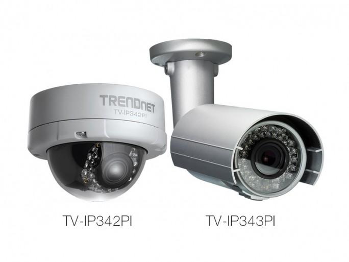 Netzwerkkameras TV-IP342PI und TV-IP434PI (Bild: Trendnet)
