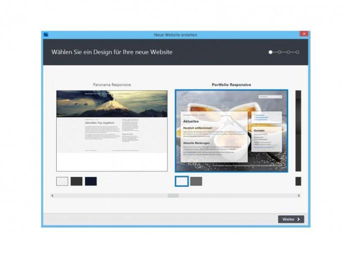 Zetaproducer 12.2 Website erstellen