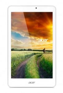 Das 8 Zoll große IPS-Display des Acer Iconia Tab 8W löst 1280 mal 800 Pixel (Bild: Acer).