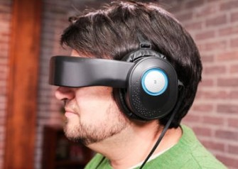 Intel has participated in the US company Avegant that the virtual reality glasses developed Glyph (image: Avegant).