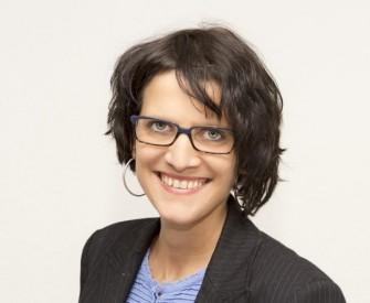 Sylvia Klein, Gründerin der Mobile-Payment-App Paij, erhielt im Rahmen der Europioneers 2014 Awards den Preis als Female Web Entrepreneur of the Year (Bild: Paij GmbH).