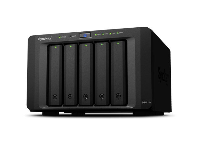 Synology_DS1515+ (Bild: Synology)
