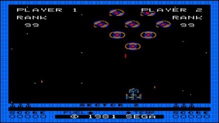 Astro Blaster Sega 1981 (Screenshot: ITespresso)