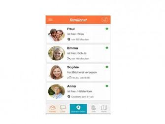 Familonet App (Bild: Familonet)