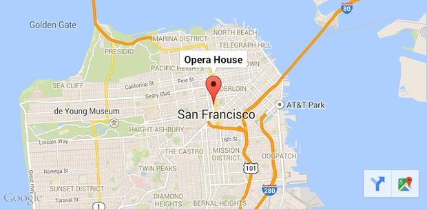 Die Google Maps Toolbar (Bild: Google)