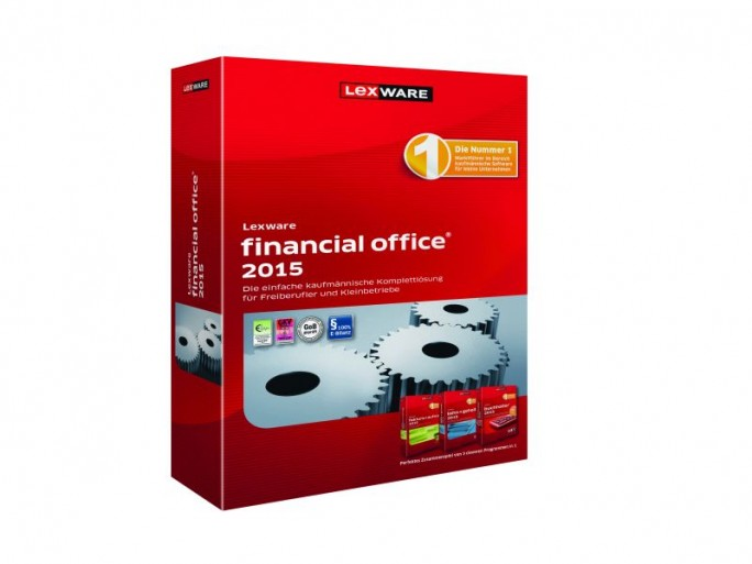 Lexware Financial Office 2015 Packshot (Bild: Lexware)