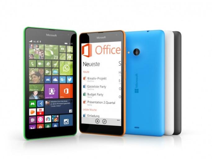 Lumia 535 (Bild: Microsoft)