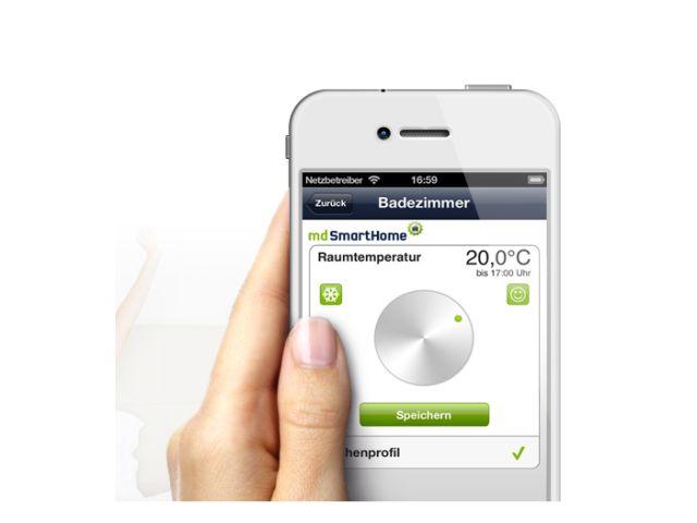 Mobilcom-Debitel-Heizungs-App (Bild: Mobilcom-Debitel)
