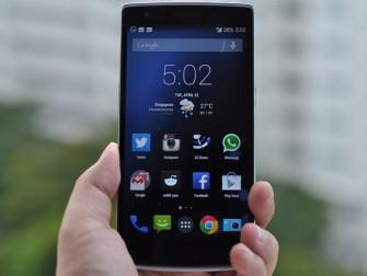 CyanogenMod-Smartphone OnePlus One (Bild: CNET.com)