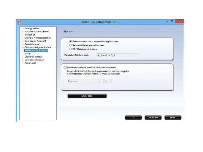 pdfMachine-ZUGFeRD (Bild: Broadgun Software)