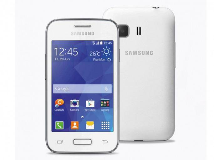 Das Samsung Galaxy Young 2 gibt es ab 13. November für 75 Euro in Weiß und Schwarz bei Aldi Nord (Bild: Aldi Nord).