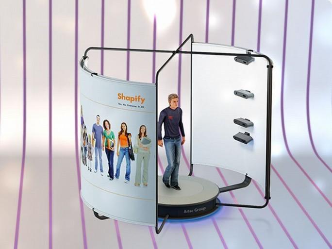 Shapify Booth (Bild: Artec Group)
