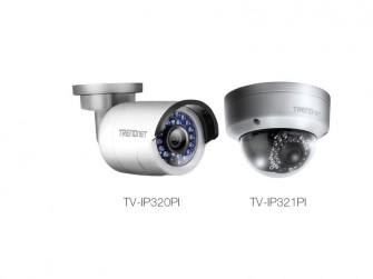 Trendnet-IPv6-Kameras TV-IP320pi+TV-IP321pi