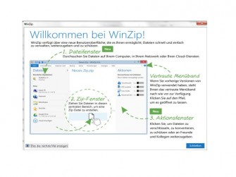 Winzip 19 Screen