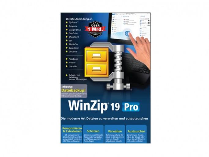 Winzip 19 Pro Packshot