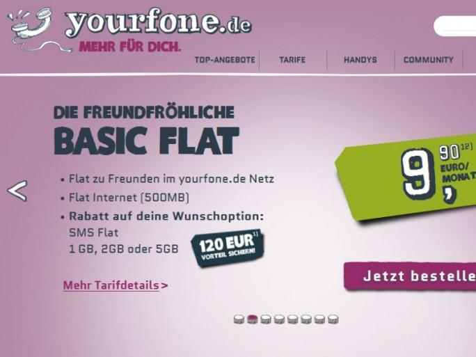 Drillisch will Yourfone und dessen 235.000 Kunden von Telefónica übernehmen (Screnshot: ITespresso).