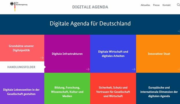 Große Pläne für Deutschland: Die Digitale Agenda der Bundesregierung.