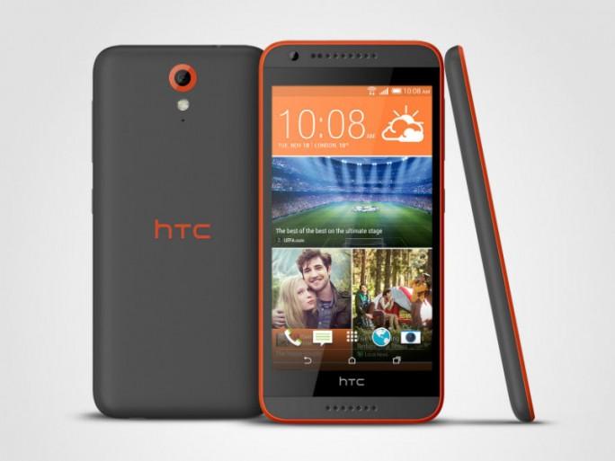 Das Desire 620 kommt Anfang Januar für 279 Euro in den Handel (Bild: HTC).