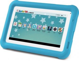 Aldi Nord verkauft das Medion Lifetab S7322 ab 22. Dezember in drei Farben als Medion Junior Tab für 99 Euro (Bild: Medion).