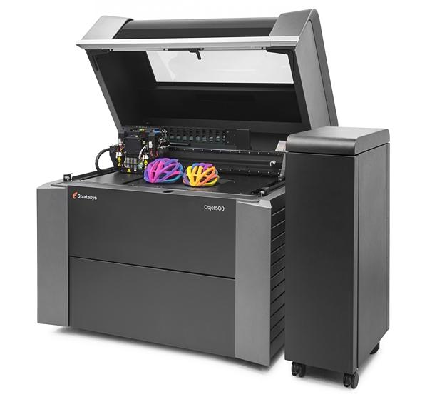 Schwer im Kommen: 3D-Drucker, hier ein Modell  von Stratasys. (Foto: Stratasys)