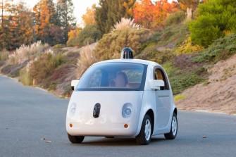 Googles autonom fahrendes Fahrzeug soll im Januar auf den Straßen von Nord-Kalifornien getestet werden (Bild: Google)