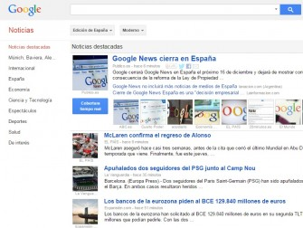 google-news-es (Screenshot: ZDNet.de)