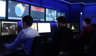 Blick ins HP Cyber-Abwehrzentrum in Böblingen (Bild: HP).