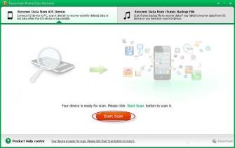 iPhone Data Recovery (Bild: Tenorshare)