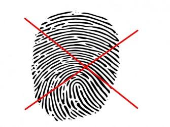 Kein Fingerabdruck (Bild: Abdruck Wikipedia Commons)