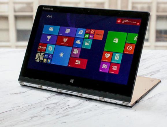 PC-Markt im Jahr 2014: Lenovo Yoga 3 Pro (Bild: Sarah Tew, CNET.com)